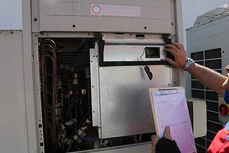 Hygieneinspektion von Klimaanlagen und Lüftungsanlagen